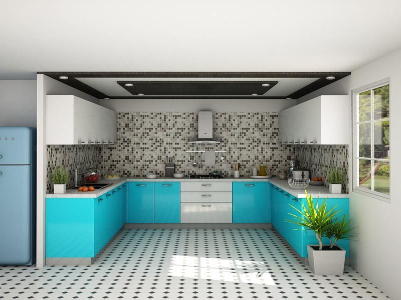 Catalina U-shaped Modular Kitchen Designs