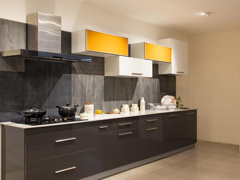 Orange County Straight Modular Kitchen Designs