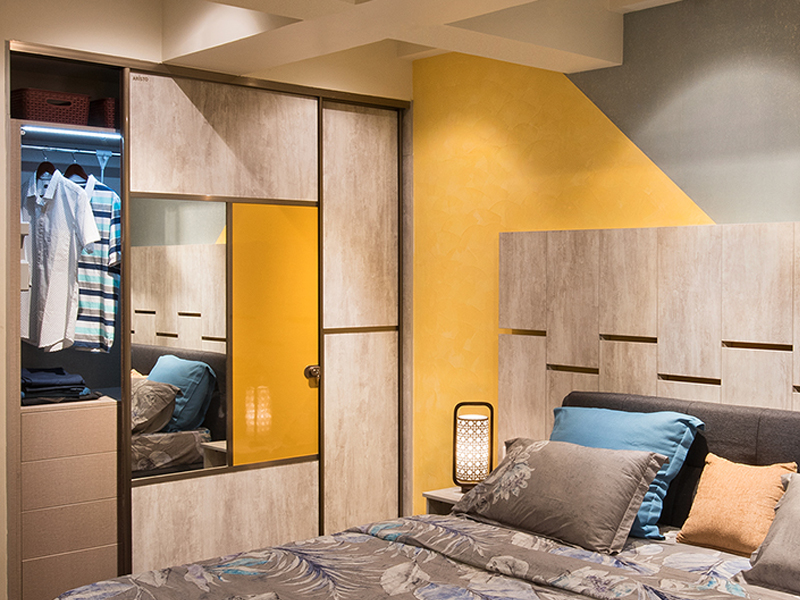 Wardrobe Designs For Bedroom Online HomeLane Interesting Wardrobe Bedroom Design