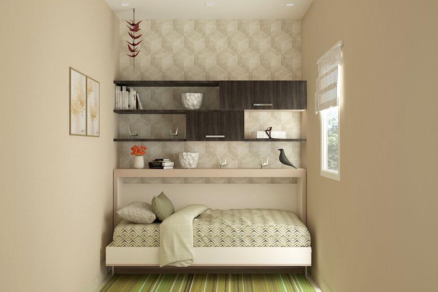 Single Horizontal Wall Bed